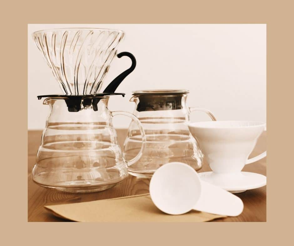 how to use a v60 coffee dripper